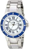 A Line a_line Women's 80009-22-BU Marina Textured Dial Stainless Steel Watch