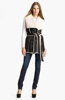 Mcginn Belted Faux Shearling Vest