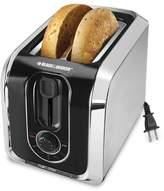 Black & Decker 2-Slice Silver Toaster