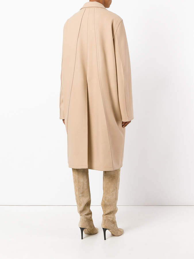 Nina Ricci button up trench coat