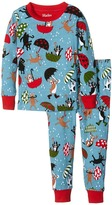 Hatley Raining Dogs Pajama Set (Toddler/Little Kids/Big Kids)