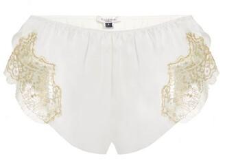 Gilda and Pearl Gina Tap Silk Lace Shorts