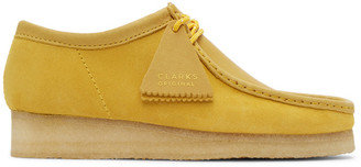 Clarks Yellow Suede Wallabee Moccasins