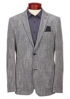 Vince Camuto Slim-Fit Scratch Weave Blazer