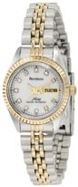 Mother of Pearl Armitron Women's 75/2475MOP Swarovski Crystal Accented Two-Tone Bracelet Watch