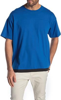 Hudson Jeans Boxy Drawcord Hem T-Shirt