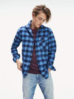 Tommy Hilfiger Cotton Flannel Check Shirt