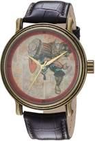 Marvel Men's 'Comics' Quartz Metal Casual Watch, Color: (Model: WMA000196)