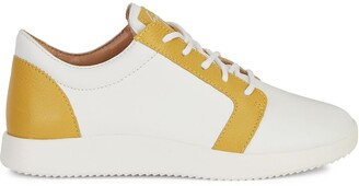 Giuseppe Zanotti Two-Tone Low-Top Sneakers