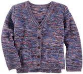 Osh Kosh Toddler Girl Space-Dyed Knit Cardigan