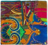 Etro multi-patterned scarf