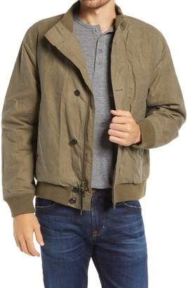 Billy Reid Organic Cotton Flight Bomber Jacket