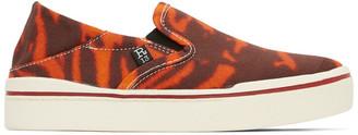 R 13 Orange Tiger Sneakers