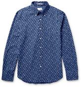 Gant Slim-Fit Button-Down Collar Cotton-Jacquard Shirt