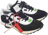 Off-White Off White Running Black Suede Trainers