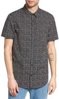Globe Men's Posie Floral Print Woven Shirt