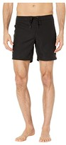 O'Neill 7 Saltwater Solids Boardshorts (Black) Women's Swimwear