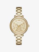 Michael Kors Kohen Gold-Tone Watch