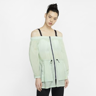 Nike Women's Off-Shoulder Jacket Jordan Utility