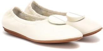 Mercedes Castillo Lena leather ballet flats