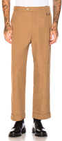 Craig Green Relaxed Tailored Trousers in Brown.