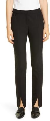 Lafayette 148 New York Waldorf Front Slit Slim Pants