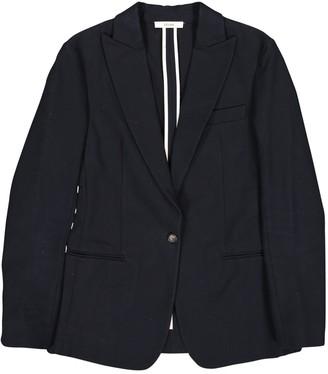 Celine Navy Cotton Jackets