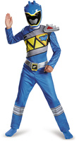 Disguise Blue Ranger Dino Charge Classic Dress-Up Set - Kids