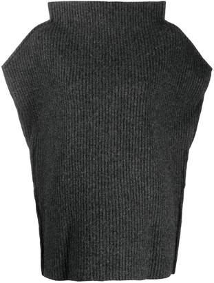 Maison Margiela oversized ribbed sweater