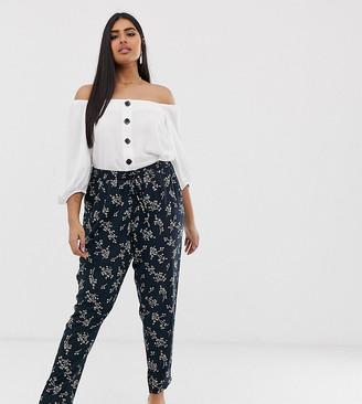 Junarose tropical print pants