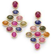Marco Bicego Siviglia Multicolor Sapphire & 18K Yellow Gold Drop Earrings