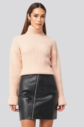 Rut & Circle Nellie PU Skirt