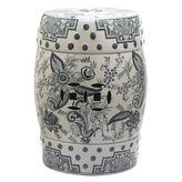 Safavieh Pagoda Ceramic Garden Stool
