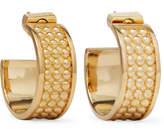 Loewe Gold-tone Hoop Earrings - one size