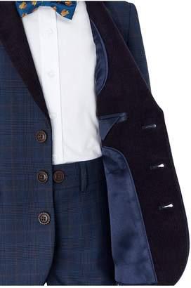 Monsoon Boys Bronx Cord Trim 4 Piece Suit Set - Navy
