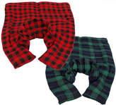 Herbal Concepts Hot/Cold Plaid Flannel Neck & Back Wrap