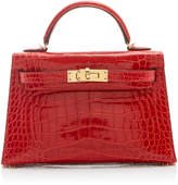 Heritage Auctions Special Collections Hermès 20cm Geranium Shiny Alligator Mini Kelly