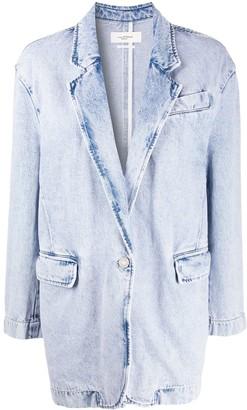 Etoile Isabel Marant Oversized Denim Blazer