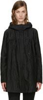Moncler Gamme Rouge Black Jacquard Croquet Coat