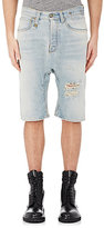 R 13 Men's Ian Drop-Rise Shorts-Light Blue Size 30