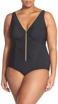 Miraclesuit Miracle Suit &Suit Yourself Blitz& One-Piece Swimsuit (Plus Size)