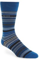 BOSS Men's 'Rs Design' Mercerized Cotton Blend Socks