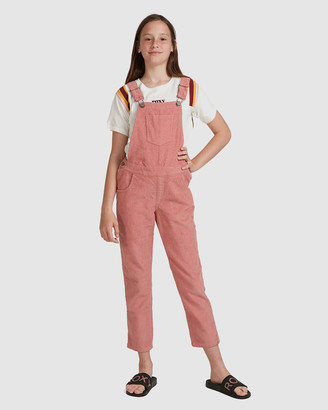 Roxy Girls 8-14 Animal Spirit Corduroy Overalls