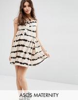Asos Tie Dye Lattice Dress