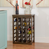 Three Posts Dalmatia 24 Bottle Floor Wine Rack