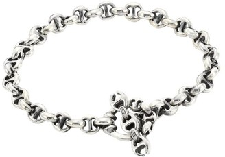 Hoorsenbuhs Open-Link Sterling Silver & Diamond Bracelet