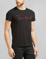 Belstaff James Hunt Pittston T-Shirt Black