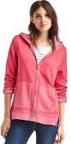 Gap Slouchy zip hoodie