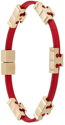 Tory Burch Logo-Plaque Bangle