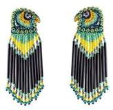 Forest of Chintz Green Peregrine Earrings